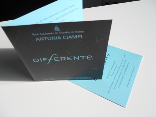 Differente – Personale di Antonia Ciampi
